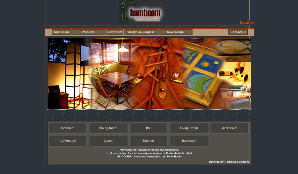 diseño web - Bamboom