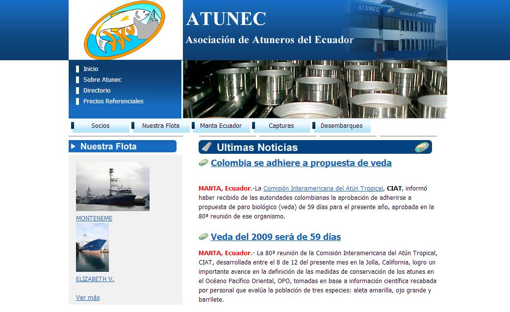 diseño web - atunec