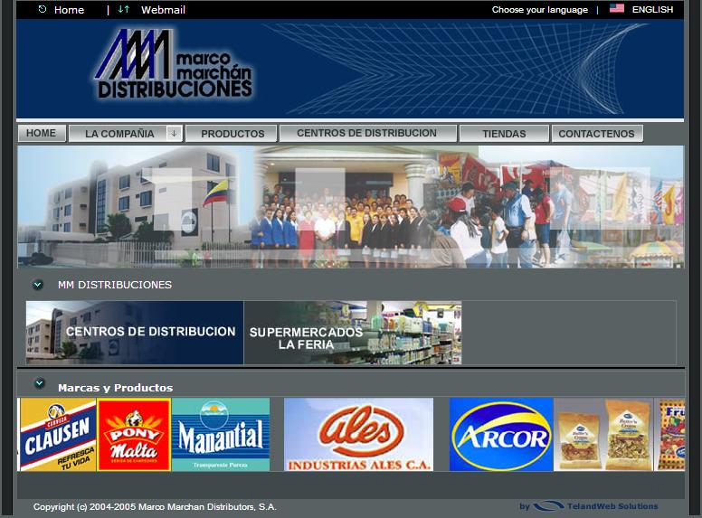 diseño web - marco marchan