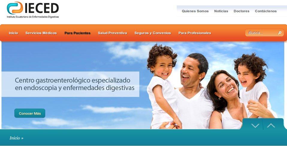 diseno web IECED