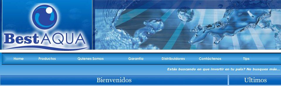 Diseño Web Best Aqua