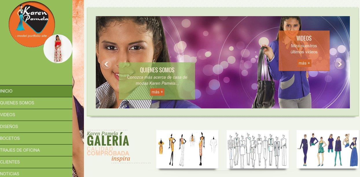 diseño web karenpamela